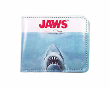 Jaws Shark Scary Horror Beach Ocean Great White Amity Island Bi Fold Wallet
