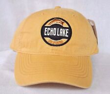 *ECHO LAKE CALIFORNIA* Trout Fishing Ball cap hat OURAY embroidered 51000 sample