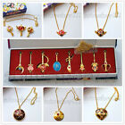 Sailor Moon Super S Crisis Moon Compact Pendant Chain Necklace Cosplay 7 Choices