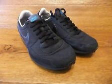 Nike Air Waffle Cortez Black Trainers Size 5.5 UK 38.5  EUR
