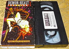 Demon Beast Invasion 1 Anime 18 VHS Erotic Adventure 1995 English Subtitles OOP