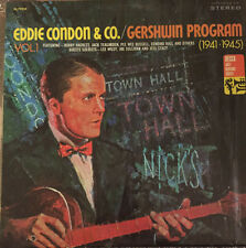 "Eddie Condon & Co Gershwin Program Vol 1 1941-45 LP 12"" 33rpm vinyl record (g+)"