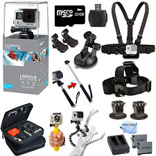 GoPro HERO4 Silver Edition All In 1 PRO Accessory Mount Bundle For All Occasions