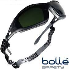 BOLLE TRACKER II SAFETY GLASSES GOGGLES SHADE 3 WELDING TRACWPCC3