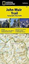 National Geographic Trails Illustrated Map: John Muir Trail Topographic Map...