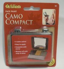 Allen Four Color Camo Camouflage Face Paint Compact Hunting Military w/Mirror