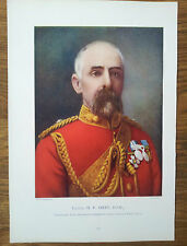 PRINT COLONEL HP AIREY DSO COMMANDING OFFICER FIRST BUSHMEN CONTINGENT BOER WAR