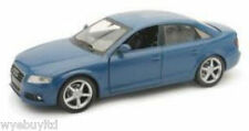 NEWRAY COLLECTABLE CLASSIC AUDI A4 SALOON BLUE DIECAST MODEL CAR GIFT  1:24