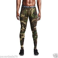 MEN'S SIZE MEDIUM NIKE CAMO TIGHT PANTS FOOTBALL BASE LAYER 744526 274