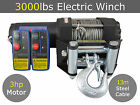 12V 3000lbs 3000lb Electric Winch 13M Steel Cable ATV Quad Boat 4x4 4wd Car Boat