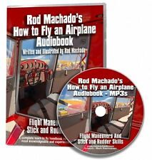 Rod Machado's How to Fly an Airplane - Audiobook 18.5 hour DVD containing MP3s