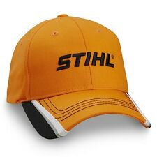 STIHL Chainsaws *BRIGHT ORANGE w/Accents* LOGO HAT CAP *BRAND NEW!* ST16