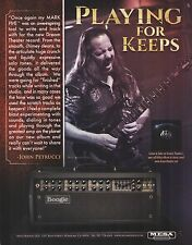 John Petrucci (Dream Theater) Mesa Boogie Mark Five guitar amp 8 x 11 ad print