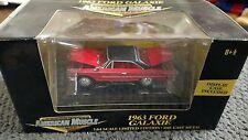 1:64th 2001 Ertl American Muscle   1963 Ford Galaxie