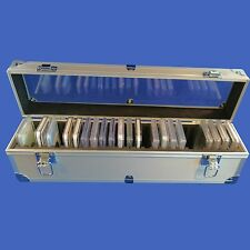 25 Graded Certified NGC/PCGS/Premier/Elite Coin Slab Aluminum Storage Box Case