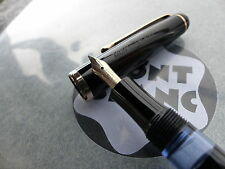 "✒️ Vintage MONTBLANC 342 G Fountain Pen 14ct 585 Gold ""F"" Nib"