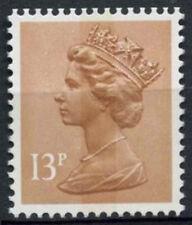 GB SG#X900EU, 13p Pale Chestnut QEII Machin Definitive CB MNH Underprint #D2960