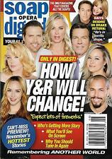 Young & Restless, Amelia Heinle, Joshua Morrow - Nov. 14, 2016 Soap Opera Digest