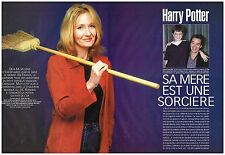 Coupure de presse Clipping 2000 (4 pages) Harry Potter par Joanne Rowling