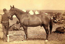 "Photo 5"" x 7"": Historical Comanche Only Survivor Custer Massacre, S Dakota, 1876"