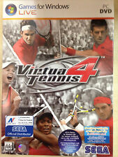 NEW*SEALED PC GAME VIRTUA TENNIS 4 (PC) (DVD) FACTORY SEALED