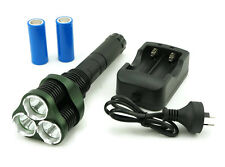 Rechargeable High Power 3 x CREE XML LED Torch