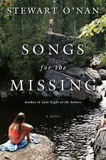 Songs for the Missing: A Novel, O'Nan, Stewart, Good Condition, Book
