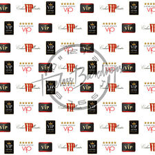 8ftx8ft Digital Printed Background (VIP STEP & REPEAT #1) TimelessBackdrops
