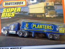 MATCHBOX DIE CAST SUPER RIGS COLLECTION PLANTERS PEANUTS