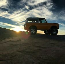 1969 Ford Bronco Stock