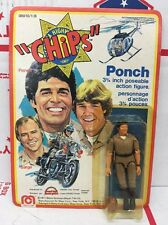 """1977 Mego CHiPS Ponch 3 3/4"""" Action Figure; Unopened Unused"""