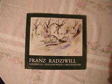 Franz Radziwill  Aquarelle - Zeichnungen - Druckgrafik