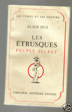 Alain HUS Les Etrusques, peuple secret eo 1957