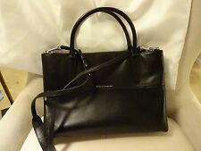 Coach Turnlock Borough Medium Black Glove / Nappa Leather Satchel Bag