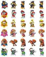 Paw Patrol Cupcake Toppers Wafer Paper Edible Stand Ups BUY 2 GET 3RD FREE!
