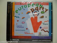 PHILIPS CDI CD-i GAME EUROPEAN PARTY SEALED NEW