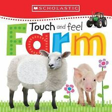 Touch and Feel Farm by Inc. Staff Scholastic (2015, Board Book)
