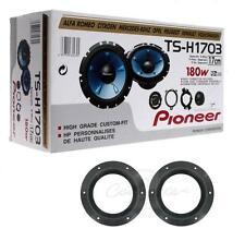 """Pioneer TS-H1703 6.5"""" 2 Manera Componente Altavoces con soportes de altavoz VW T5"""