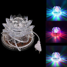 Rotating Sunflower LED RGB Light For Any Party Stage Club KTV Disco laser Lamp