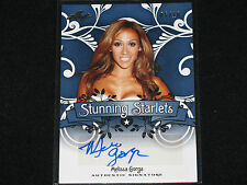MELISSA GORGA  2014 LEAF  starlets #/10  AUTO  the real housewives of new jersey