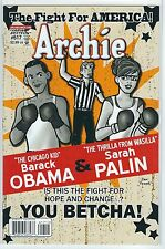 ARCHIE #617 BARACK OBAMA and SARAH PALIN Variant Cover First Print MINT