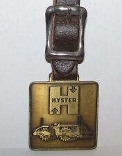 Hyster Asphalt Concrete Vibratory Compactor Roller Pocket Watch Fob Construction
