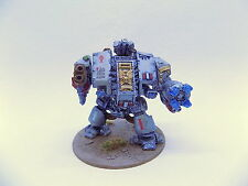40k Space Marines metal SPACE WOLVES DREADNOUGHT Well Painted Citadel 36646