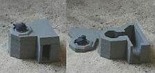 MGM 070-03 1/72 Resin WWII German Bunker with French FT17 Turret