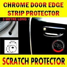 3m CHROME CAR DOOR GRILLS EDGE STRIP PROTECTOR NISSAN NAVARA X TRAIL 4X4 SUV