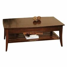 Comtempory Coffee Table of Shesham Wood Size 120 X 45 X 60 Cms in Brown Colour