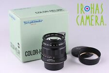 Voigtlander Color-Heliar 75mm f/2.5 MC Lens for Leica L39 LTM Mount #5217