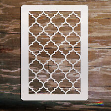 Moroccan #3  Stencil Template:  Scrapbooking, Airbrushing, Art:  ST32A6