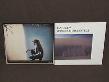LIZ STORY 2 LP RECORD ALBUMS LOT COLLECTION Unaccountable Effect & Part Fortune