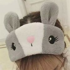 New Cute Bunny Eye Shade Cover Rest Eyepatch Blindfold Shield Sleep Mask Aid